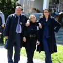 Bridget Moynahan and Vanessa Ray – On the 'Blue Bloods' set in Brooklyn