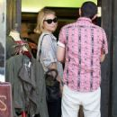Dianna Agron's Glee-ful L.A. Morning Retail Romp