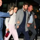 Emily Blunt and John Krasinski – Leaving the Crosby Hotel in New York