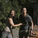 Evangeline Lilly as Kate and Ken Leung as Miles on Lost (Ep.6x06 - Sundown) - 427 x 640