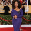 Oprah Winfrey attends the 20th Annual Screen Actors Guild Awards at The Shrine Auditorium on January 18, 2014 in Los Angeles, California