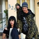 Krysten Ritter and Aaron Paul