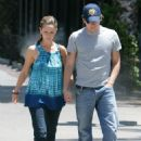 Jennifer Love Hewitt And Ross McCall Walk On The Streets Of Burbank, June 28 2008 - 454 x 638