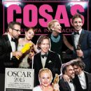 Alejandro González Iñárritu, Patricia Arquette, Wes Anderson, Steve Carell, Julianne Moore, Eddie Redmayne, Cate Blanchett - Cosas Magazine Cover [Peru] (4 March 2015)