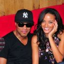 Selita Ebanks and Maxwell