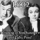 Slim Summerville and Zasu Pitts