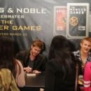 Liam Hemsworth, Amandla Stenberg and Alexander Ludwig attended a signing at Barnes and Noble in Los Angeles yesterday, March 22, to promote their new movie, The Hunger Games