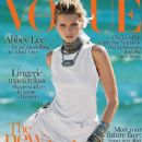 Abbey Lee Vogue Australia Magazine Cover April 2014