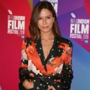 Rhona Mitra – 'The Fight' Premiere at 62nd BFI London Film Festival