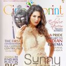 Sunny Leone - Cinesprint Magazine Cover [India] (April 2015)
