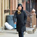 Kaley Cuoco – Solo stroll in NYC