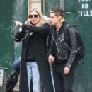 Ashley Benson and Kristen Stewart out together in NYC December 12, 2017
