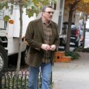 "Tom Selleck On Set Of ""Blue Bloods"""