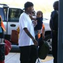 Kylie Jenner and Tyga spotted departing on a flight in Costa Rica on January 30, 2017 - 418 x 600