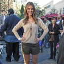 Maria Menounos Prepares for 'Extra'