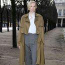 Gwendoline Christie – Louis Vuitton Menswear FW 2018 Fashion Show in Paris