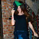 Lana Del Rey in Jeans at TAO in LA - 454 x 698