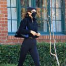 Hailey Bieber and Kendall Jenner – Out for a workout session in Los Angeles