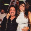 Teri Weigel and Ron Jeremy at the 1993 CES - 454 x 766