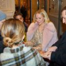 Kristen Bell – Spotted while leaves Hotel Kempinski in Wien
