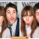 Mickey O'Brien & Jim Sturgess from the 2012 Vanity Fair Oscar Party Booth - 454 x 299