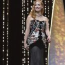 Jessica Chastain : Opening Ceremony of the 70th annual Cannes Film Festival