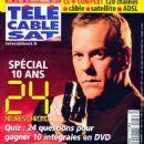 Kiefer Sutherland - Télé Cable Satellite Magazine Cover [France] (12 November 2011)