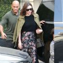 Miranda Kerr Leaving Epione Salon in Los Angeles - 454 x 651