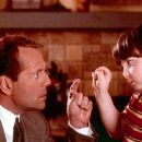 Bruce Willis and Spencer Breslin in Disney's The Kid - 2000