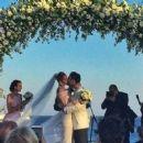 Ana Beatriz Barros and Karim El Chiaty- wedding ceremony in Mykonos, Greece - 454 x 248