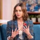 Emilia Clarke – On This Morning TV in London