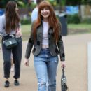 Nicola Roberts – Arrives at the Peter Pan launch in London - 454 x 689