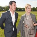 Emma Stone and Luke Evans – Audi Polo Challenge – Day Two in Ascot - 454 x 583