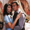 Maud Adams and Roger Moore - 454 x 356