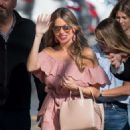 Sofia Vergara – Arrives at Jimmy Kimmel Live in Hollywood - 454 x 610