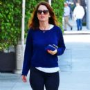 Robin Tunney in Tights out in Beverly Hills - 454 x 803