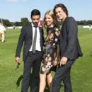 Dominic Cooper, Annabelle Wallis and James Rousseau