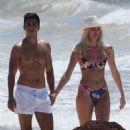 Devon Windsor in Bikini at the beach in Tulum - 454 x 681