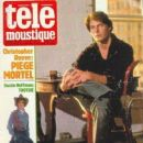 Christopher Reeve - Telemoustique Magazine Cover [France] (17 March 1983)