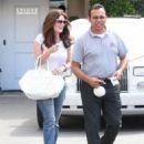 Lisa Vanderpump is seen leaving Epione Cosmetic Dermatology in Beverly Hills, California on May 1, 2015 - 454 x 576