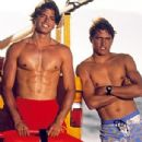 David Charvet and Kelly Slater in Baywatch