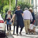 Saoirse Ronan and Jack Lowden – Out for a stroll and breakfast in London - 454 x 381