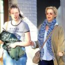 Annette Bening was spotted shopping with her daughter at The Grove in Hollywood, California on March 31, 2017 - 454 x 350
