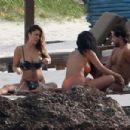 Arianny Celeste in Bikini on the beach in Tulum