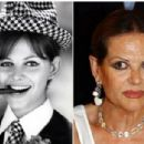 Claudia Cardinale ... Then and Now - 454 x 304