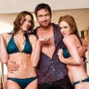 Holly Weber as Chef Megan and Gerard Butler as Mike in Columbia Pictures' The Ugly Truth.
