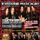 Chuck Billy (vocalist), Alex Skolnick, Eric Petersen (II), Gene Hoglan, Greg Christian - Vegas Rocks Magazine Cover [United States] (September 2010)