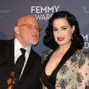 Dita Von Teese – 2018 Femmy Awards in NYC - 454 x 633