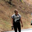 Hilary Duff – out for a hike in Studio City