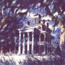 Lithograph of the Haunted Mansion, by Sam McKim - 400 x 309